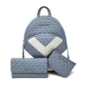 Michael Kors Abbey Backpack 3PC Set